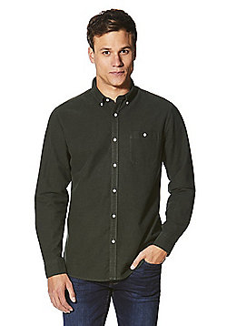 F&F Oxford Shirt - Forest green