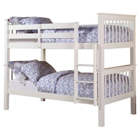 Altruna Devon Bunk Bed Frame - White