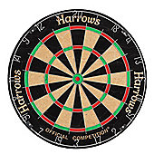 HARROWS Competition Bristle Dart Board Dartbard