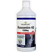 Natures Aid Glucosamine HCI 1500mg Liquid - 1 Litre