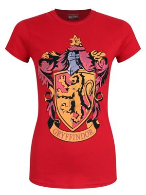 Harry Potter House Gryffindor Women's Red T-shirt