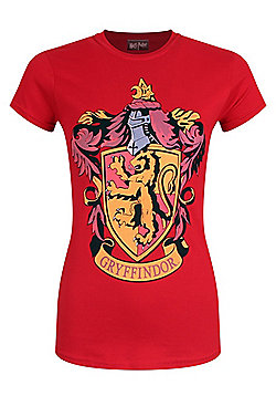 Harry Potter House Gryffindor Women's Red T-shirt - Red
