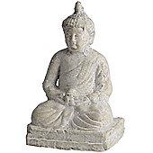 Buddha - Zen Decorative Ornament - Aged Cream