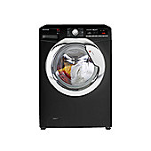 Hoover Washing Machine, DXOA410C3B, 10kg load with 1400 rpm - Black with Chrome Door