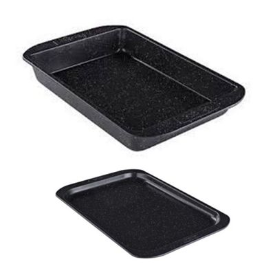 Prestige Stone Quartz Non-Stick Roast and Bake Tray and Tin