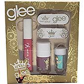 Glee Divas Free Your Glee Gift Set Let's Face It - 10.2ml Lip Gloss + 6.8ml Nail Polish + 2g Eye Dust + 2 Nail File
