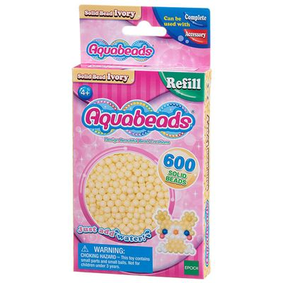 Epoch Aquabeads Solid Bead Pack Ivory
