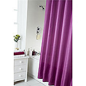 Home Creations Waterline Dyed Shower Curtain - Red