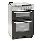 Montpellier MTG60LS 600mm Twin Cavity Gas Oven & Grill Silver