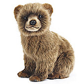 Hansa 24cm Bear Cub Brown Plush Soft Toy