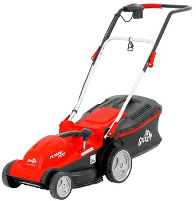 Grizzly Electric Lawn Mower 1400W with 35cm Cut
