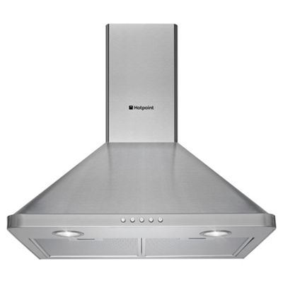 Hotpoint Cooker Hood, HHP7.5CM, Stainless Steel