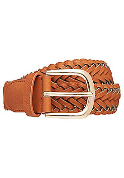 F&F Braided Belt - Tan