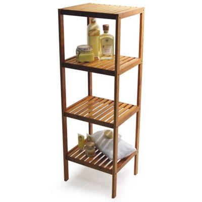 Techstyle Four Tier Storage / Bathroom Shelf
