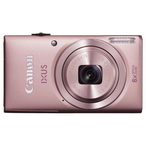 Canon Ixus 132 Digital Camera, Pink, 16MP, 8x Optical Zoom, 3.0