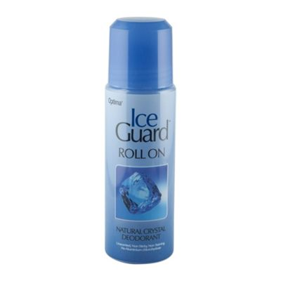 Optima Ice Guard Natural Crystal Deodorant Roll On