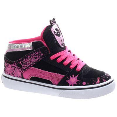 Etnies Disney RVM Vulc Kids Black/Pink Shoe