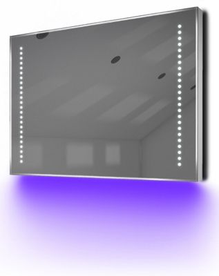 Ambient Ultra-Slim LED Bathroom Mirror With Demister Pad & Sensor K60U