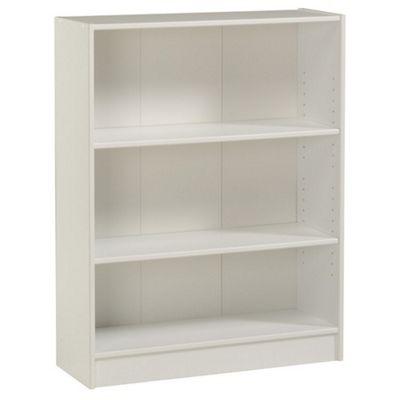 Parisot Blanc Wide Bookcase