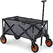 VonHaus Folding Camping Cart – Portable Festival Trolley