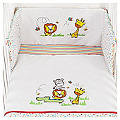Tesco Jungle Baby Cot Bumper Set