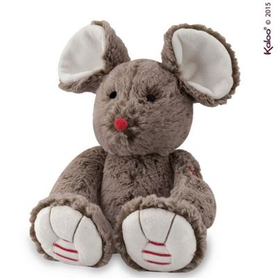 Rouge Kaloo-Medium Mouse Cocoa Brown Soft Toy
