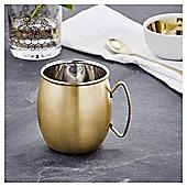 Fox & Ivy Gold Moscow Mule Mug