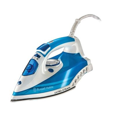 Russell Hobbs Ultra Steam Iron White/Blue