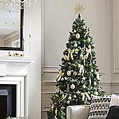 Kaemingk 7ft Lodge Slim Pine Artificial Christmas Tree