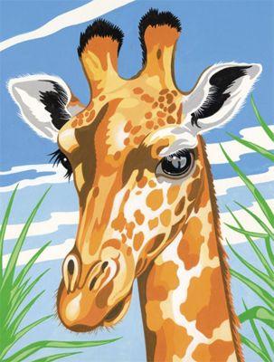 Reeves Medium Painting By Numbers Giraffe - Art Store