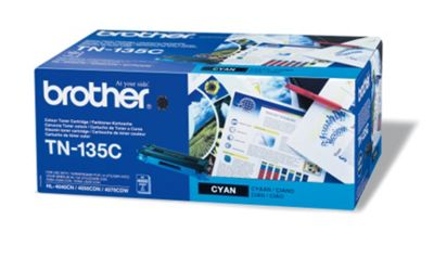 Brother TN-135C Cyan Toner Cartridge (4000 Pages)