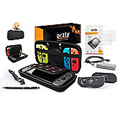 Orzly Pouch Ultimate Accessories Pack for Nintendo Switch