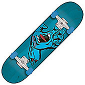 Santa Cruz Screaming Hand Regular Blue 8 Inch Complete Skateboard