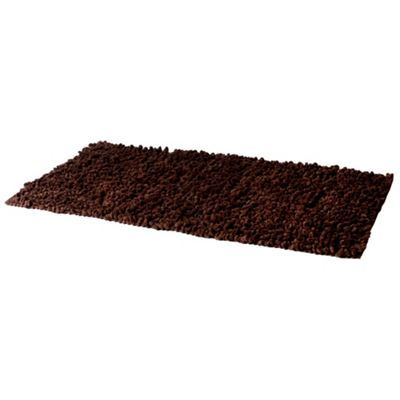 Riva Chenille Twist Chocolate Rug - 90x150cm