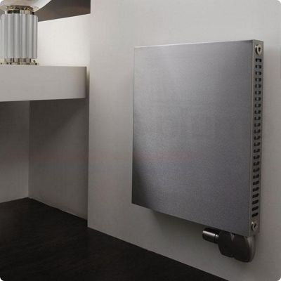 Aeon Sovran Stainless Steel Smooth Panel Horizontal Radiator 600mm High x 600mm Wide