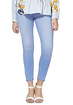 F&F Contour High Rise Super Skinny Jeans with LYCRA® BEAUTY - Light wash