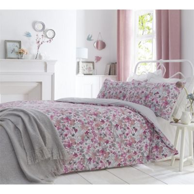 Dreams N Drapes Sunny Blush Duvet Cover Set - King