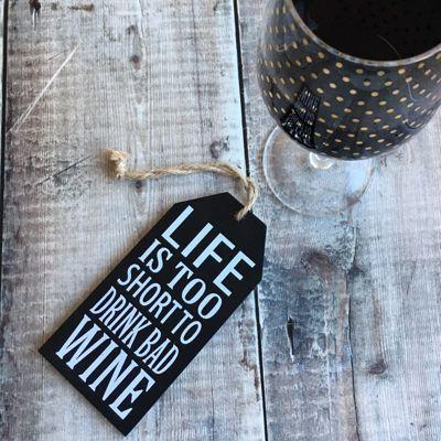 Bad Wine Sign