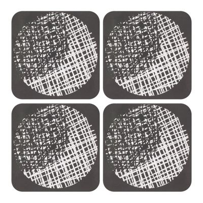 Ladelle Spotto Hardboard Set of 4 Coasters