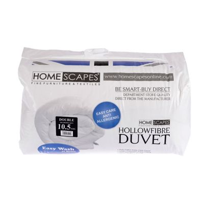 Homescapes 10.5 Tog Hollowfibre Double Autumn Duvet