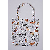 Roy Kirkham PVC Coated Cotton Shopping Bag, Dogs