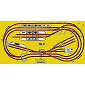 Hornby Digital Train Set Hl4 Big Layout Track For 8X4 Board