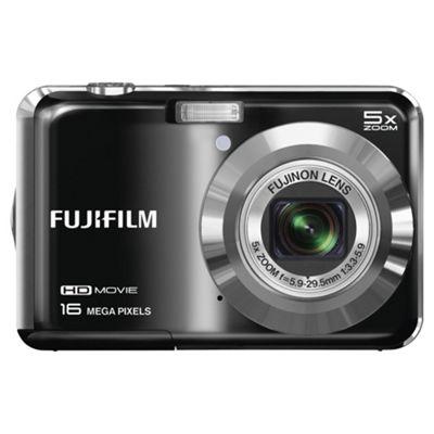 Fuji AX650 Digital Camera, Black, 16MP, 5x Optical Zoom, 2.7