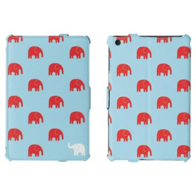 Griffin Habit Elephant Blue/Red iPad mini Case