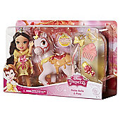 "Disney Princess 6"" Petite Belle & Pony Doll"