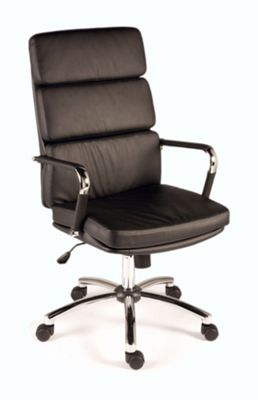 Modal Deco Retro Style Chair - Black