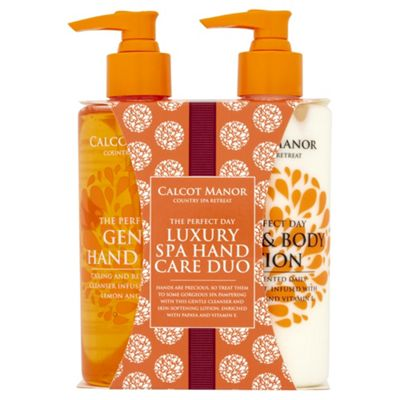 Buy Calcot Manor Hand Amp Body Wash And Lotion Duo Gift From