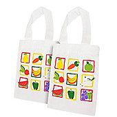 Bigjigs Toys Shopping Bag (Pack of 2)