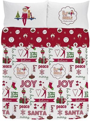 Elf on the Shelf, Christmas Double Duvet - 100% Brushed Cotton