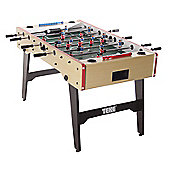 Tekscore Wood Finish Folding Leg Football Table